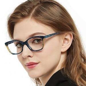 Image 5 - OCCI CHIARI gafas rectangulares para miopía para mujer, lentes ópticas transparentes, a la moda, monturas, W CANU, 2018