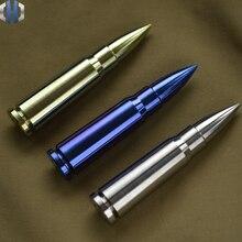 EDC Titanium Alloy TC4 Bullet Ornaments Solid Core Tools