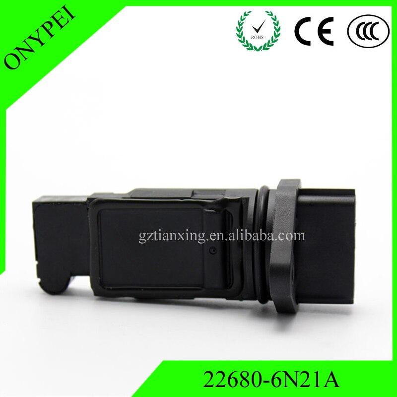 New Car 22680 6N201 22680 6N21A Air Mass Sensor For Nissan Almera Tino Primera 2.0 22680-6N21A 22680-6N210 22680-7J500