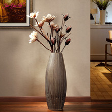 Jia-gui luo Nordic hand-painted floor vase home living room decoration