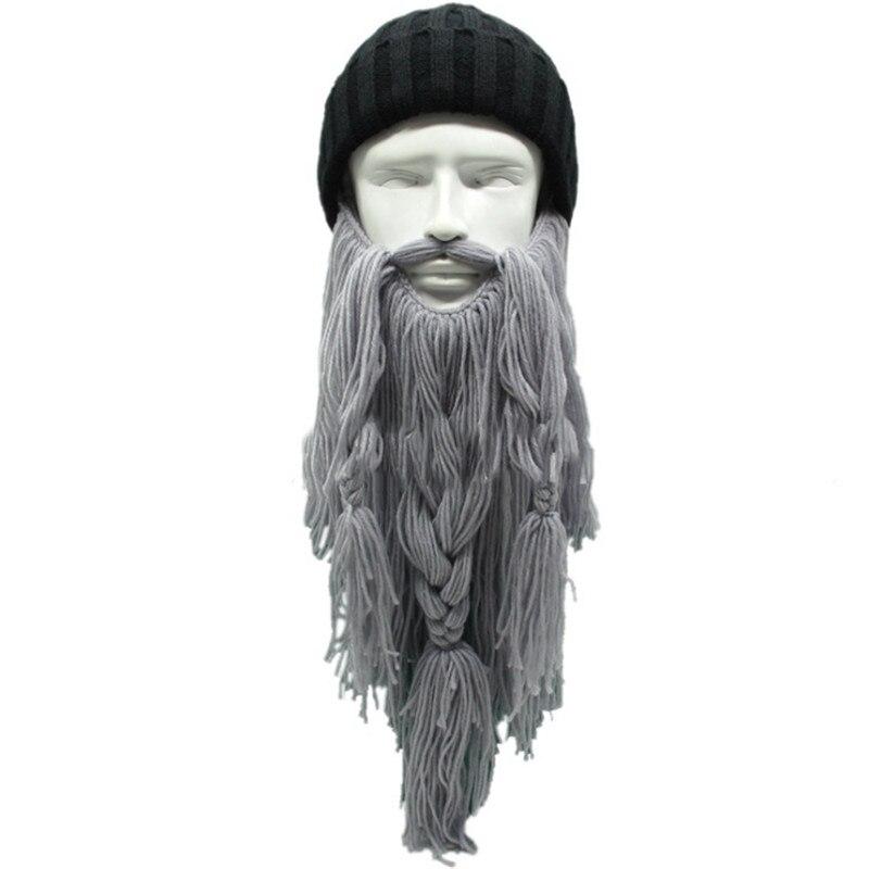 Kreative Beanies Strickten Männer Caps Herbst Winter Warme Viking ...