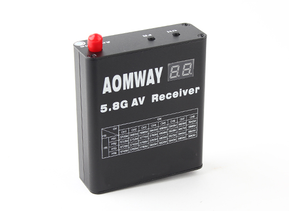 ФОТО Aomway DVR 5.8GHz 32ch Video Receiver with Built in Video Recorder