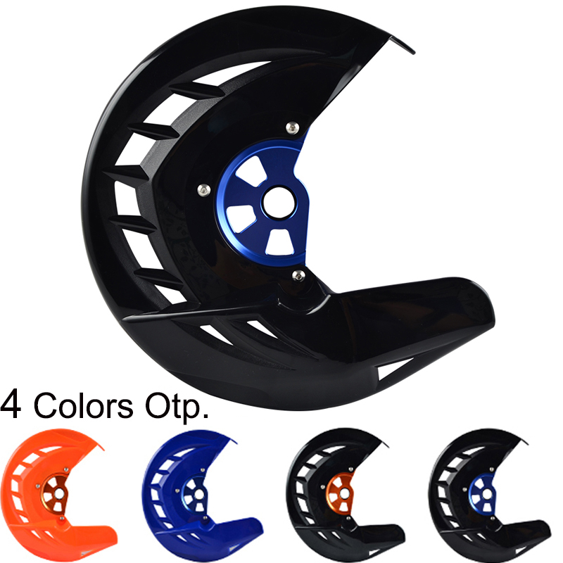 Front Brake Disc Rotor Guard Protector Cover For <font><b>Husqvarna</b></font> <font><b>TE</b></font> FE TC FC TX FX 125 150 200 250 <font><b>300</b></font> 350 390 450 501 2015-2020 <font><b>2019</b></font> image