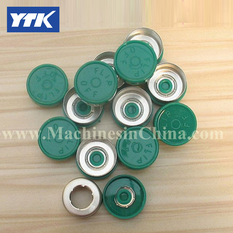 100pcs 13mm Lyophilized Antibiotic Vial Composite Aluminum Cover
