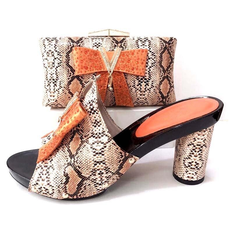 3fed5d4b802 2 A Italia Partido Moda Tamaño De 37 Sandalias Diseño Naranja Sb8245  Zapatos Y Zapato Embragues ...