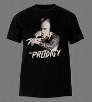 THE PRODIGY KEITH FLINT HARDCORE ROCK RAVE BREAK BEAT MUSIC T Shirt Casual Plus Size T