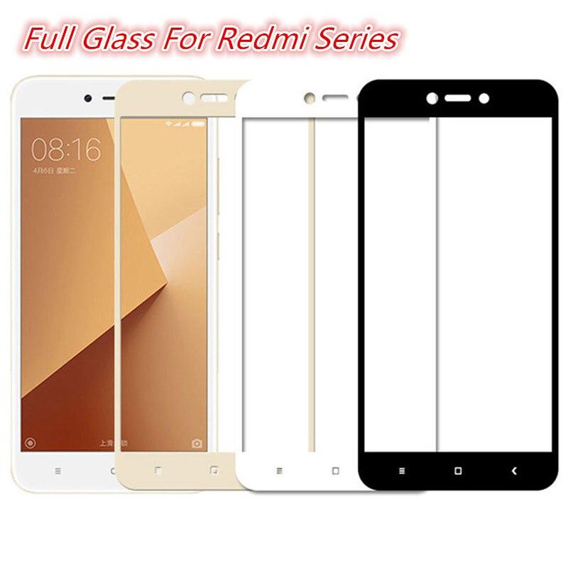 Protective Glass For Xiaomi Redmi 7A 6A 5A 5 Plus 6 7 Screen Protector For Xiomi Redmi 4X 4 Pro Tempered Glas Film On Redmi 4 X