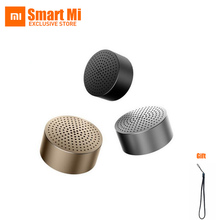 2016 Original Round Xiaomi Speaker MI Bluetooth 4.0 Wireless Mini Portable Speaker Stereo Handsfree Music Square Box Mi Speaker xiaomi mi bluetooth speaker english version stereo wireless mini portable bluetooth speakers music mp3 player support handsfree