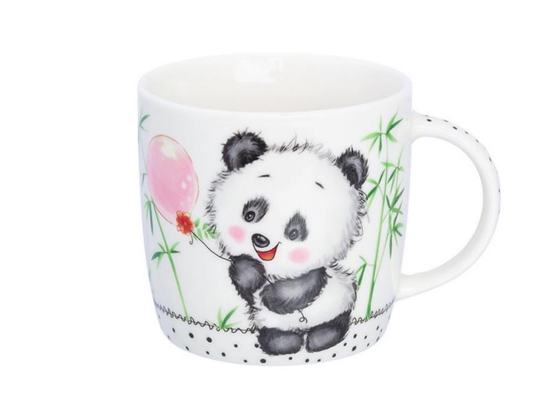 Mug Elan Gallery, Panda, 300 ml available from 10 11 set of salad bowls 2 ave 16 16 7 cm 790 ml white lace elan gallery 540159