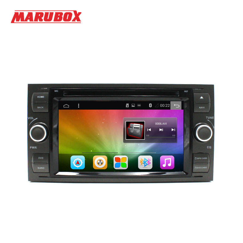 2G+32G Android 6 0 2 Din Car GPS Radio Player for Ford Transit Focus2 Mondeo
