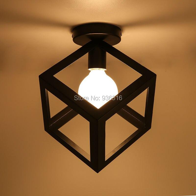 Luzes de Teto retro minimalista escandinavo loft birdcage Fonte de Luz : Lâmpadas Incandescentes