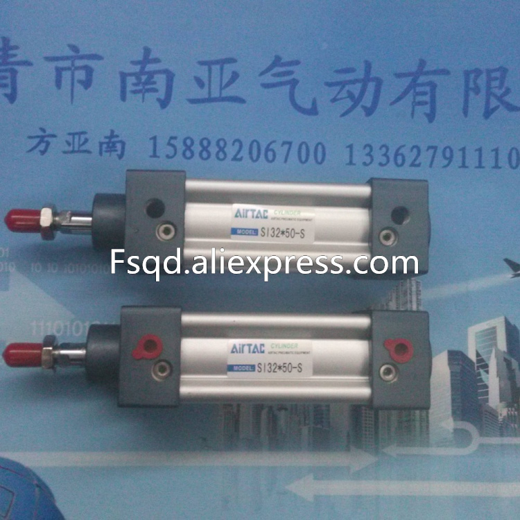 SI32-50-S AIRTAC Standard cylinder air cylinder pneumatic component air tools SI series sc40 200n airtac air cylinder pneumatic component air tools sc series