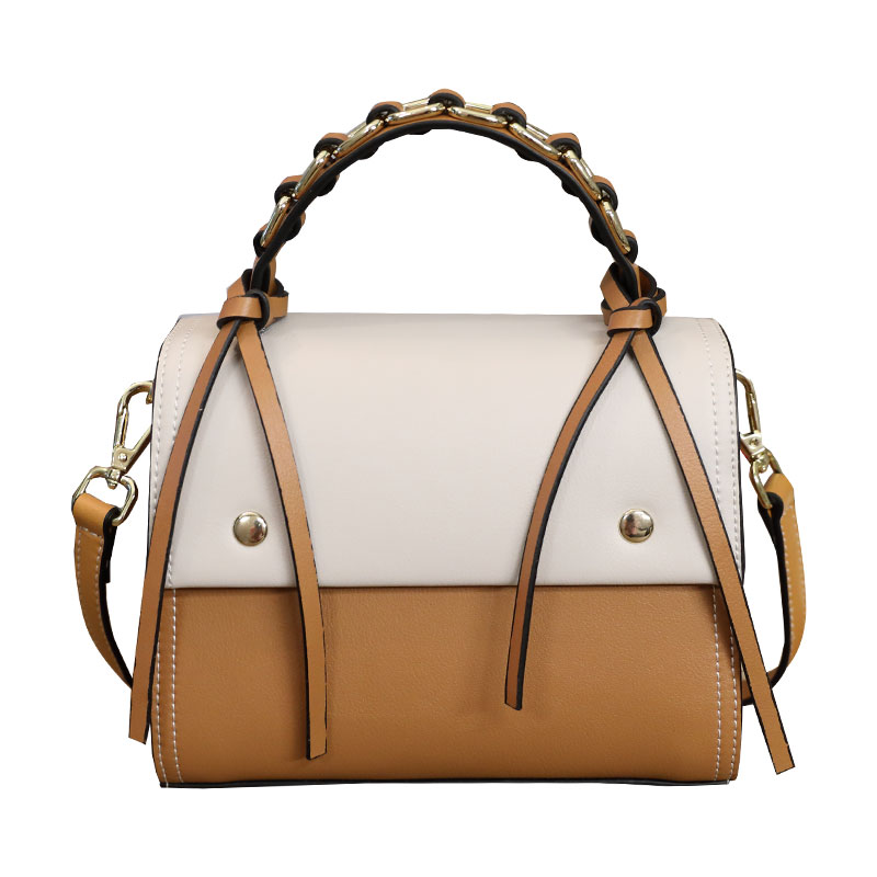 Elegant and refined casual bolsa feminina new fashion women leather handbags hit color magnetic buckle clamshell shoulder bag etersto2018 new casual fashion stitching hit color handbags new fashion handbags parker women s party wallets ms messenger bag