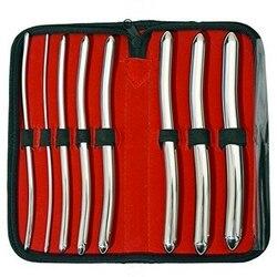 Hegar уретральный расширитель матки звуков хирургические Gyne инструменты 8 шт набор CE