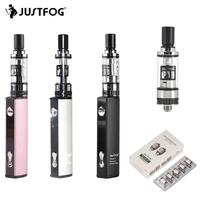 Vape Kit JUSTFOG Q16 Starter 1.6ohm 1.2ohm Coils 2.0ML Capacity 510 Thread Electronic Cigarette with Q16 Tank Atomizer and coil