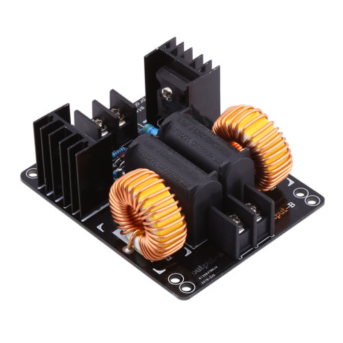 ZVS 1000W High Voltage Induction Heating Board Module Flyback Driver Heater OB dc12 36v 20a 1000w zvs induction heating module heater with cooling fan copper tube