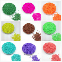 16g 1000pcs 2mm Solid Neon Colored Round Garment Beads Loose Spacer Cezch Glass Seed Handmade Jewelry DIY Making Bead LS2M