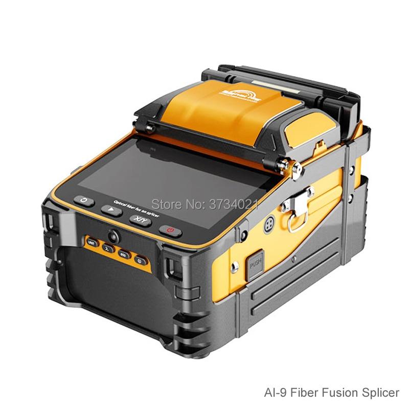 AI-9 Automatic SM&MM Multi-language Intelligent FTTH Fiber Optic Splicing Machine Optical Fiber Fusion Splicer