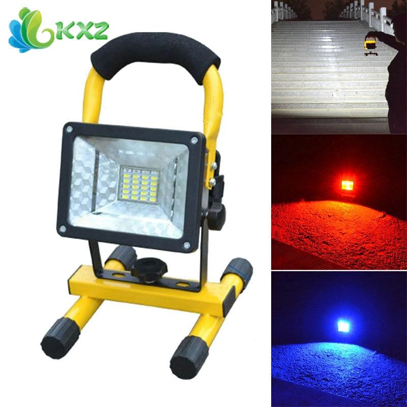 купить 20W LED Flood Light Floodlight Portable Outdoor Waterproof IP65 Emergency LED Work Light Garden Street Landscape Lighting Lamp по цене 1014.52 рублей