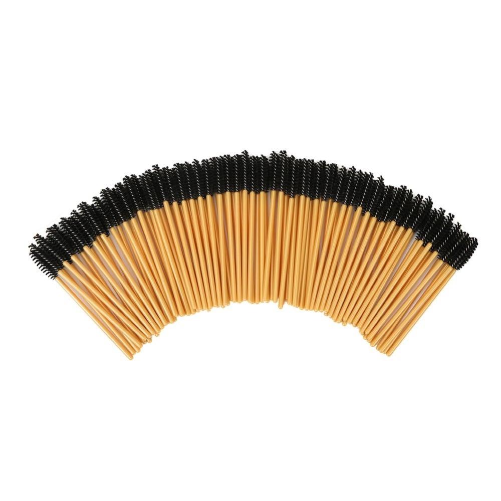 2000PCS Eyelash Brush Disposable False Eyebrow Comb Brush Mascara Wands Applicator Wand Brushes Applicator Spoolers Makeup