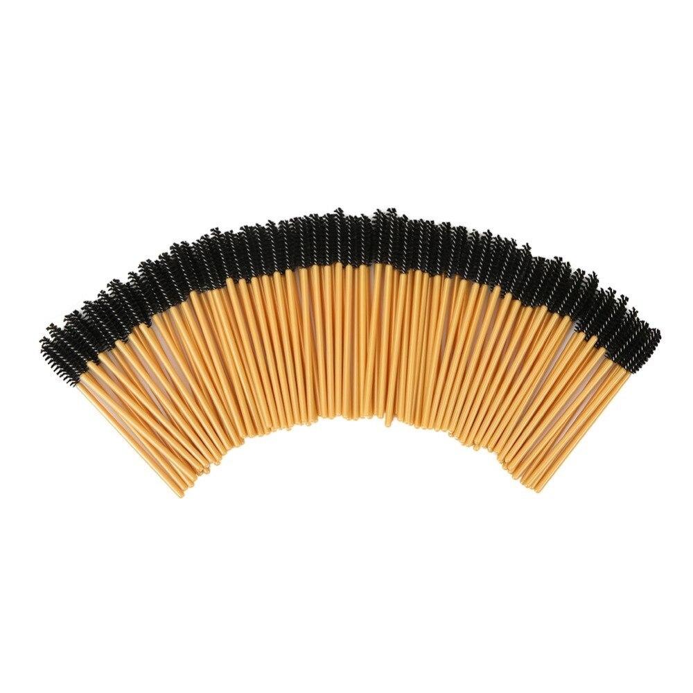 2000PCS Eyelash Brush Disposable False Eyebrow Comb Brush Mascara Wands Applicator Wand Brushes Applicator Spoolers Makeup-in Eye Shadow Applicator from Beauty & Health    1