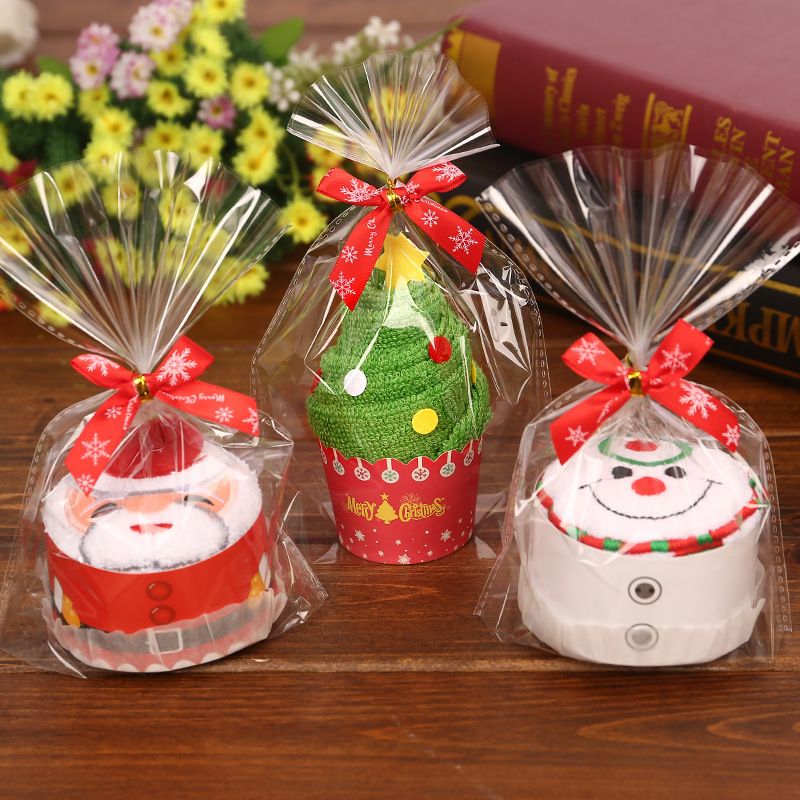 Creative cakes Towels Christmas Towel kindergarten events