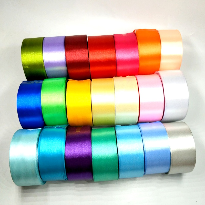 Colorful Satin Ribbons - Rolls of 5 meters 1