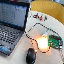 Smart Home Automation 4 Placa de Relé Canal Sistema de Alarme Eletrônico Diy Kit de Controle Remoto Por Telefone APP PC Rede aprender vídeo