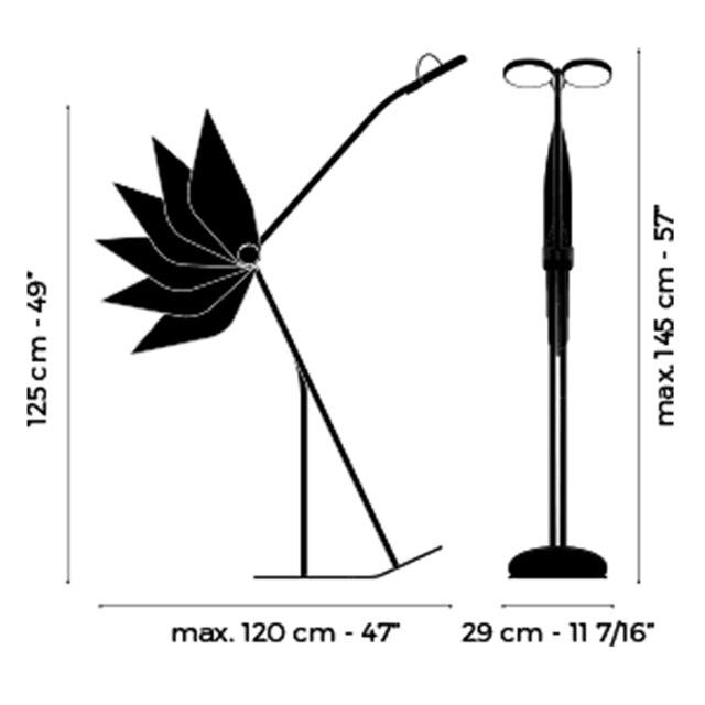 Nordic Danish Design LED Floor Lamps Adjustable High Low Living Room Floor Lights Lighting Stand Lamp Swan Standing Lamp Lustre