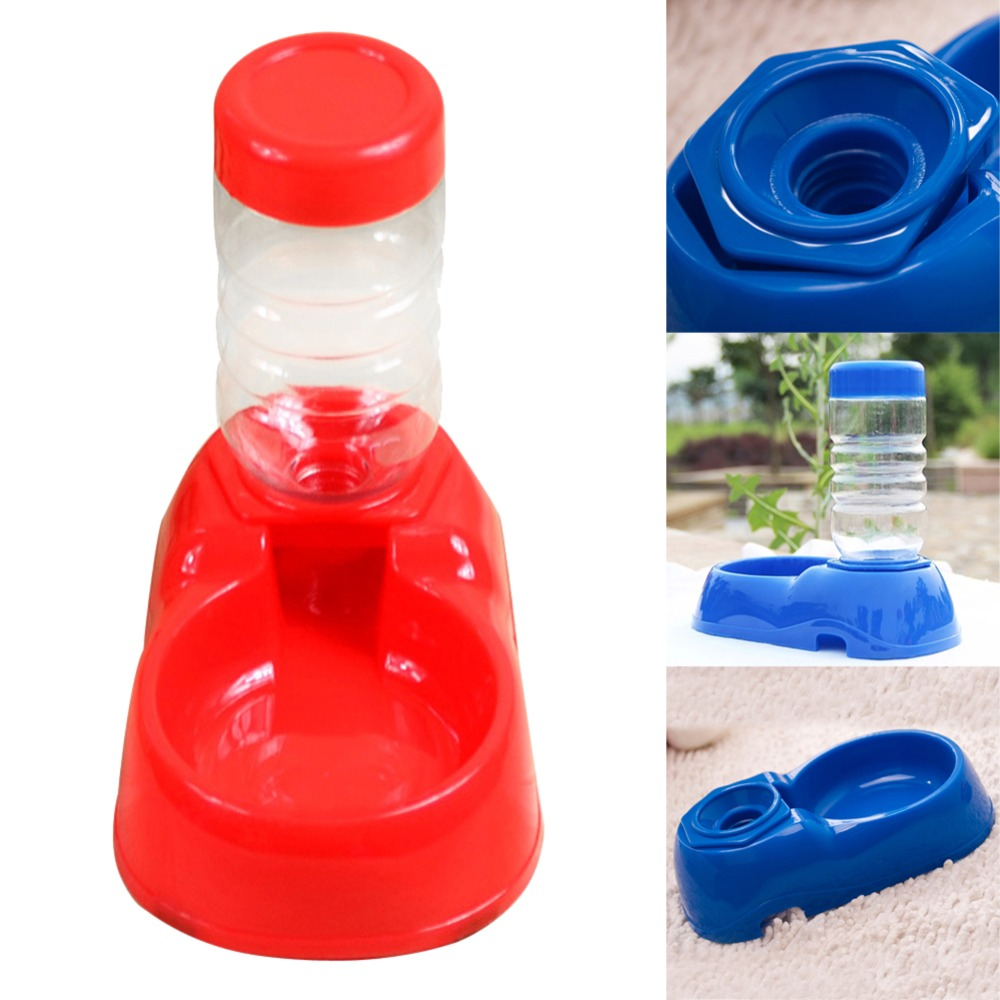Automatic Pet Feeder Water Bottles Dispe