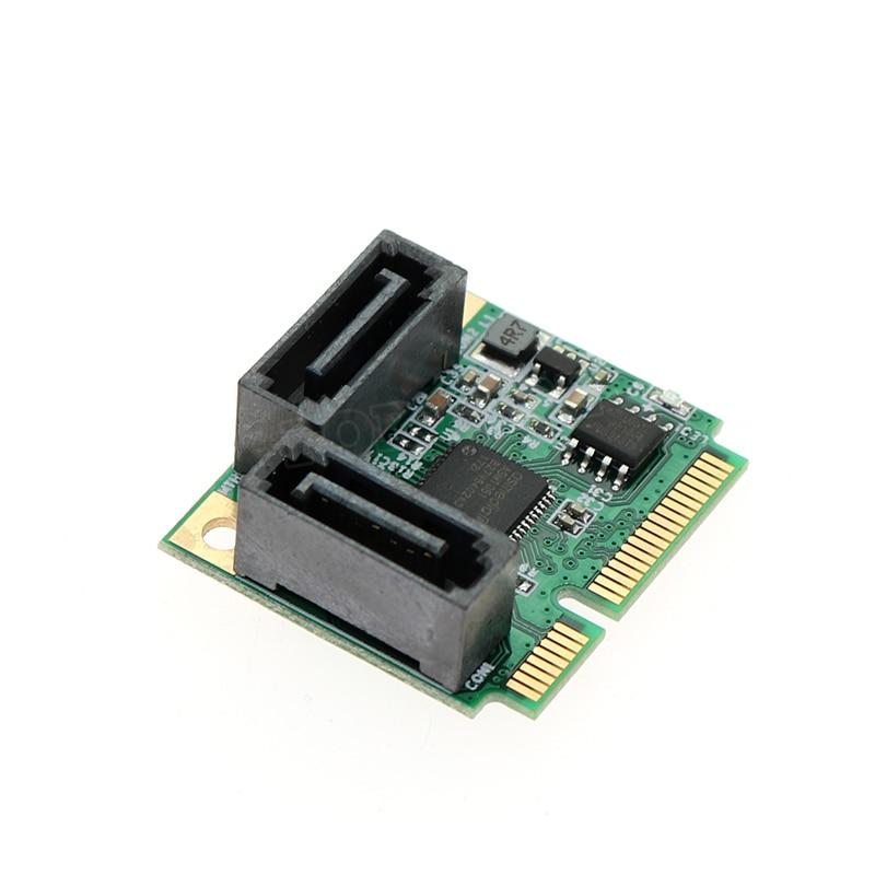 Computer & Büro Sanft Mini Pci Express Mini Pcie Zu Sata3 Erweiterungskarte Sata 3,0 Karte Mini Pcie Festplatte Expansion Karte 2 Ports SpäTester Style-Online-Verkauf Von 2019 50% Computerkomponenten