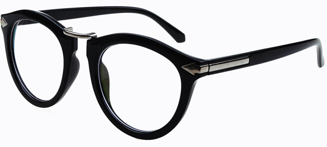 trendy specs frames  Aliexpress.com : Buy Arrows Neon solid color round eyeglasses ...