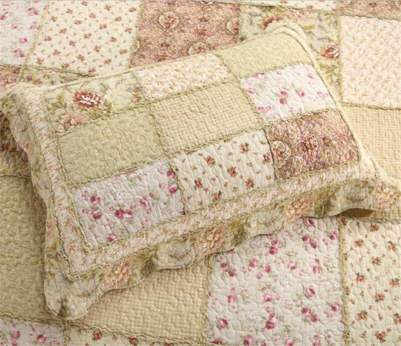 Venta caliente Colchas patchwork/rejillas colchas colcha edredón 3 ...
