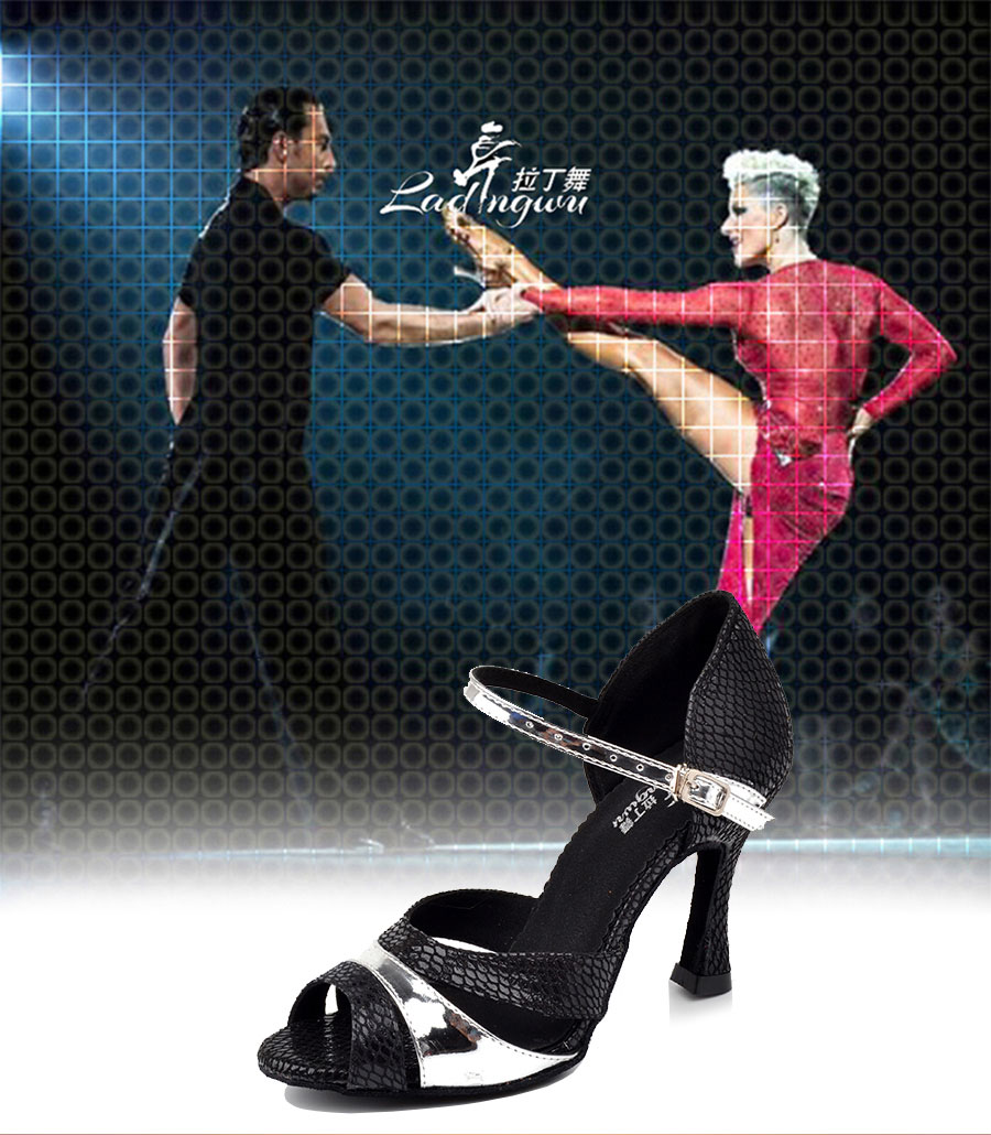 ff19d38b Baile Pu De Zapatos 4 Ladingwu Fábrica Tamaño Mujer Salón Negro Us 5 pqMSVzU