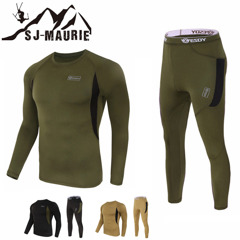 Winter Tactical Fleece T-shirts + Pants for Camping Hiking Hunting Clothing Suit Jackets Sport Hunting Tactical Softshell