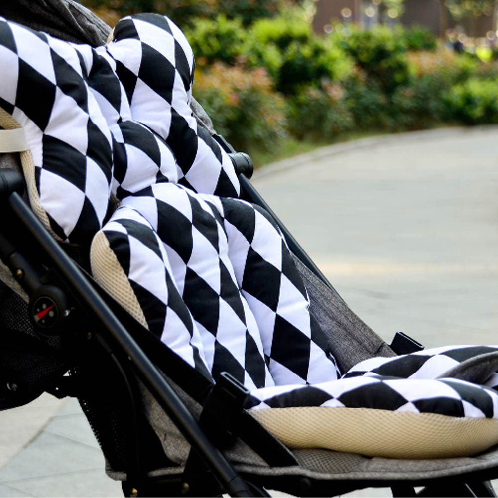 New Four Seasons Universal Thick Cotton Cushion Seat Pad Used In Pram And Car Seat 35*78cm For Childern