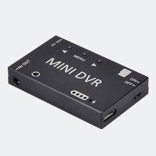 ミニ FPV DVR モジュール NTSC/PAL 切替内蔵バッテリービデオオーディオ Fpv Rc レーシング FPV ドローン Quadcopter モデル