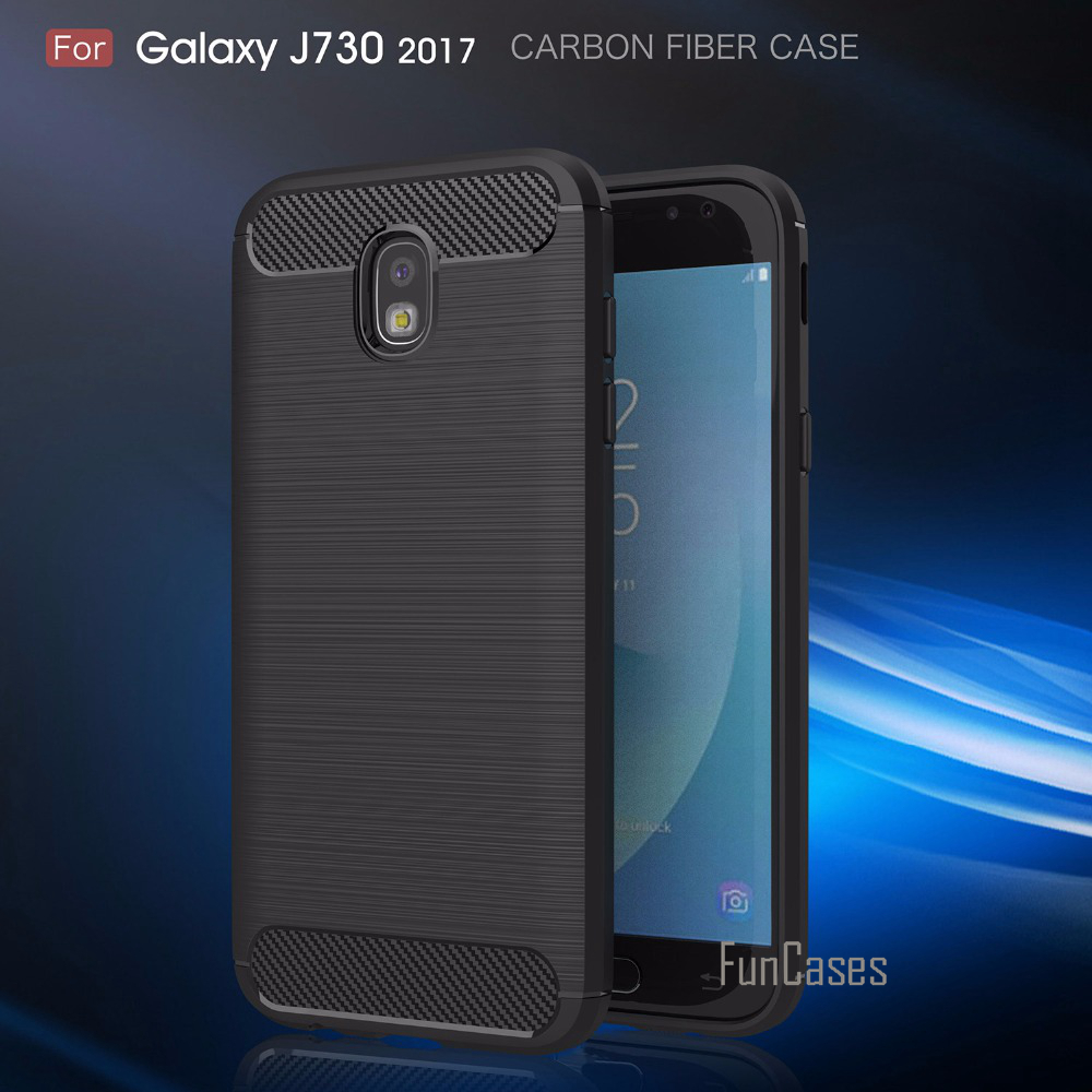 Soft Fitted Case sFor fundas Samsung Galaxy J730 <font><b>J7</b></font> <font><b>2017</b></font> Case Cover sFor Samsung Galaxy <font><b>J7</b></font> <font><b>2017</b></font> EU Eurasian Version Case image