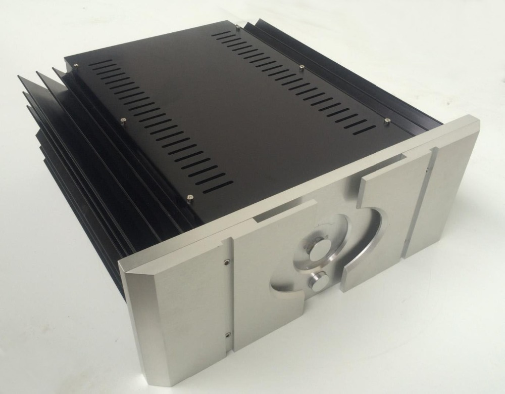 QUEENWAY hifi Class PASS XA 30.5 hi-end full Aluminum Amplifier Chassis Case box 430mm*430mm*170mm 430*430*170mm queenway audio 2215 cnc full aluminum amplifier case amp chassis box 221 5mm150mm 311mm 221 5 150 311mm