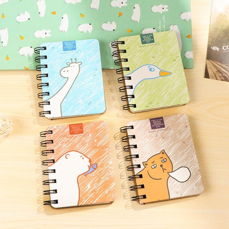 2019 Kawaii Notebook Cartoon Journal Diary Planner Bullet Journal Notepad for Kids Sketchbook Gift Korean Stationery Agenda