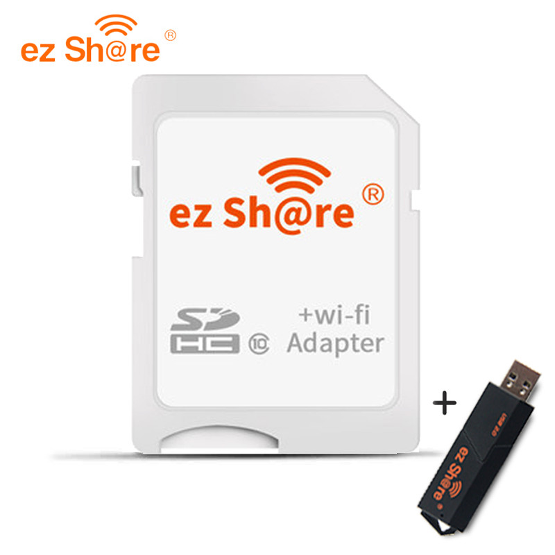 Ez Share wifi Sd Card Adapter class10 sdhc Wireless for Micro Sd Memory Card reader flash
