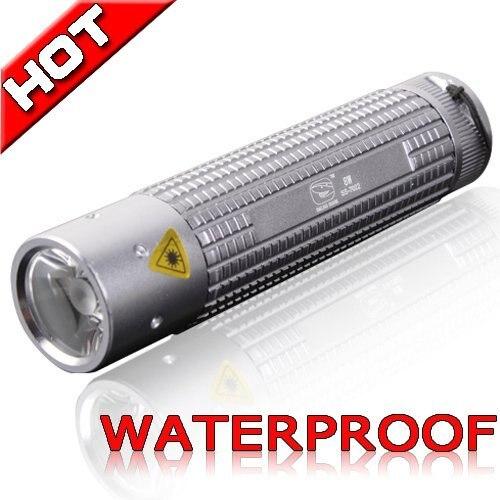Aluminum super bright outdoor Torch Handy LED Flashlight Waterproof Sporting camping lamp 80-100 lumens 7022