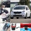 For kia venga Car Parking Camera APP control Car Wifi DVR FHD 1080P WDR Dual Cameras Car Black Box night vision camcorder