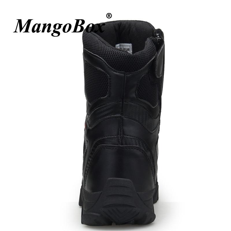 Preto Tamanho Designer De Boots 46 Para 47 Militares Grande Anti Homens Botas Sapatos Táticas Ankle Marca 45 2018 Beige black Bege slip Combate vw5Fw