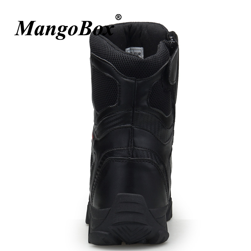 Anti Para black 2018 46 Preto Marca Ankle slip Beige Homens 47 Boots 45 Sapatos Designer Combate Grande Táticas Botas Bege Tamanho Militares De f6Ipgnx6