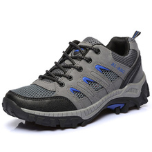 2016 New Men Sneakers Hiking Boots Outdoor Hike Shoes Waterproof Non Slip Air Climbing Hiking Shoes