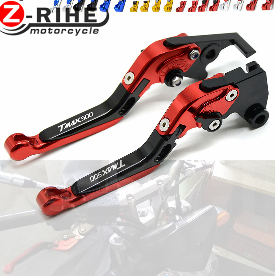 CNC Motorcycle Brakes Clutch Levers For YAMAHA XP 500 T-MAX TMAX 500 TMAX500 2000 2001 2002 2003 2004 2005 2006 2007 00 01 02 03 carburetor for yamaha grizzly yfm660 2002 2008 bombardier can am ds650 baja racer x 2000 2007 polaris predator 500 atv quad carb