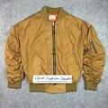 Melhor versão temor de deus Jaqueta Bomber quarta coleção Justin Bieber clássico elástico manga inverno roupas dos homens kanye west