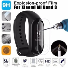 mi band three 2pcs For Xiaomi Mi Band three Display screen Protector Miband3 HD Extremely Skinny Anti-scratch Movie Gentle movie Not Tempered Glass