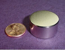 NdFeB Disc Magnet 1 dia.x1/2 thick Neodymium Permanent Magnets Grade N42 NiCuNi Plated Axially Magnetized ems SHIPPED 1 pack dia 4x3 mm jewery magnet ndfeb disc magnet neodymium permanent magnets grade n35 nicuni plated axially magnetized